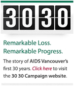 The 30 30 Campaign - 3030.aidsvancouver.org